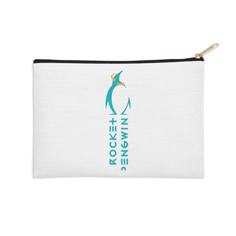 BIG LOGO OF THE PENGWIN Accessories Zip Pouch by THE PENGWIN OFFICIAL STORE