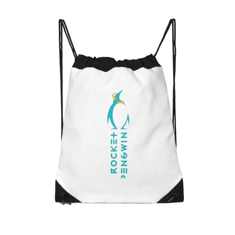 BIG LOGO OF THE PENGWIN Accessories Drawstring Bag Bag by THE PENGWIN OFFICIAL STORE