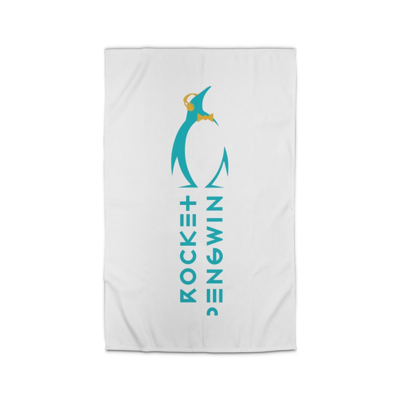 BIG LOGO OF THE PENGWIN Home Rug by THE PENGWIN OFFICIAL STORE