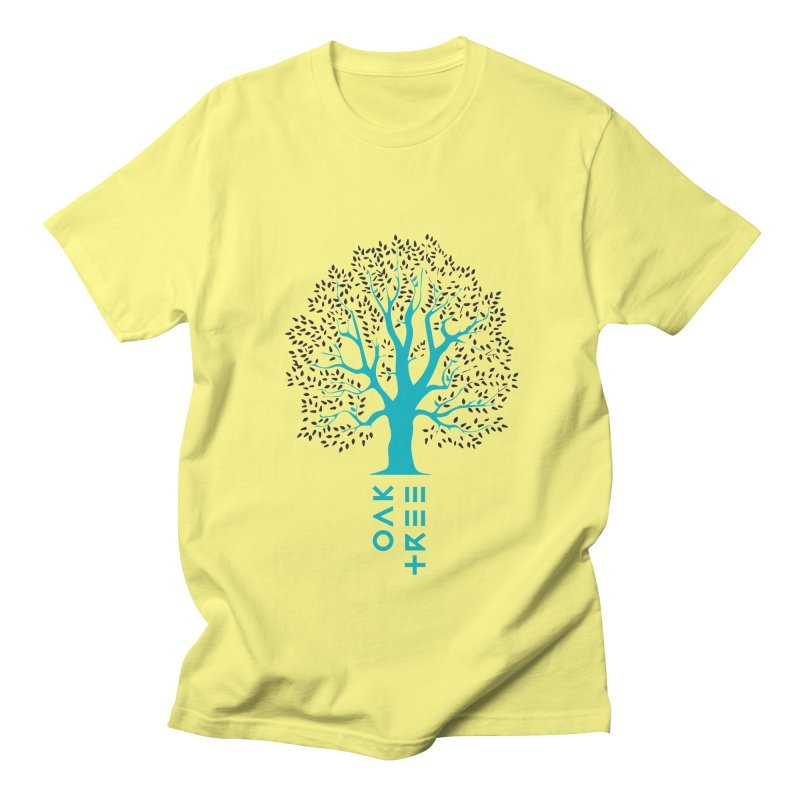 BIG OAK TREE Women's Regular Unisex T-Shirt by THE PENGWIN OFFICIAL STORE