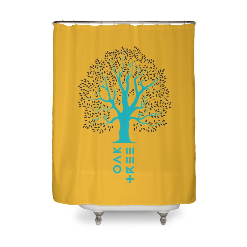 BIG OAK TREE Home Shower Curtain by THE PENGWIN OFFICIAL STORE