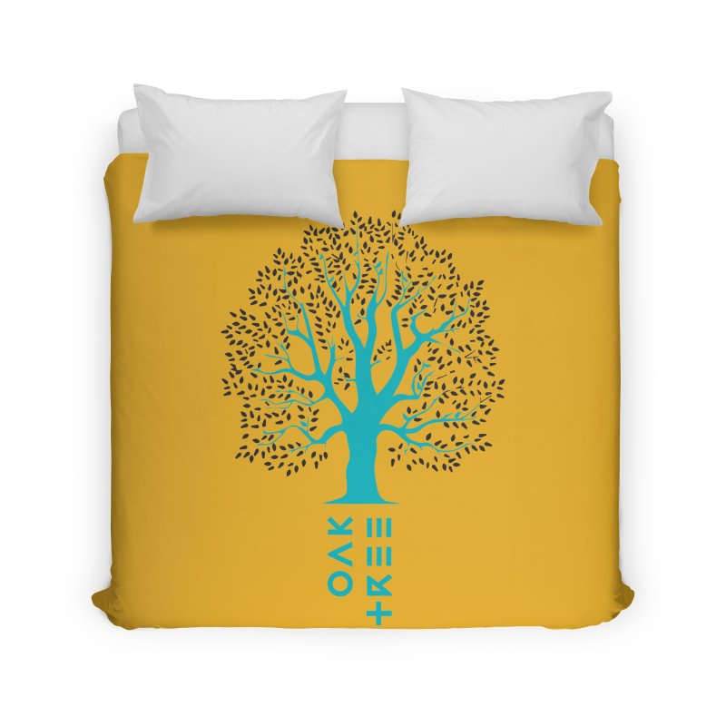 BIG OAK TREE Home Duvet by THE PENGWIN OFFICIAL STORE