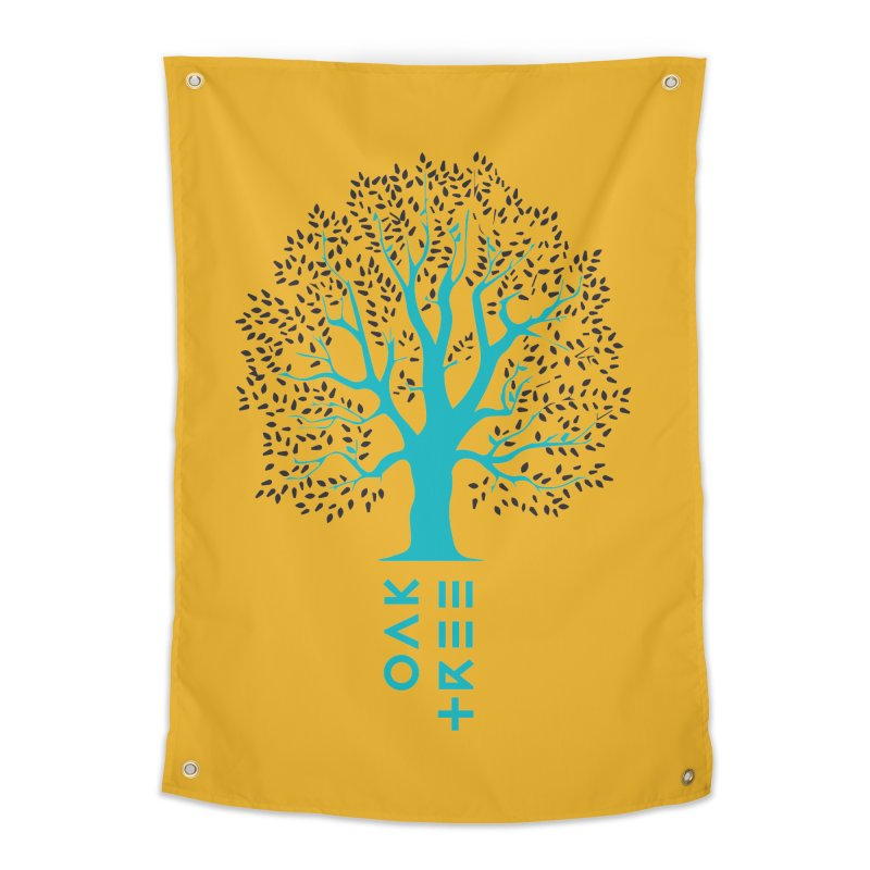 BIG OAK TREE Home Tapestry by THE PENGWIN OFFICIAL STORE