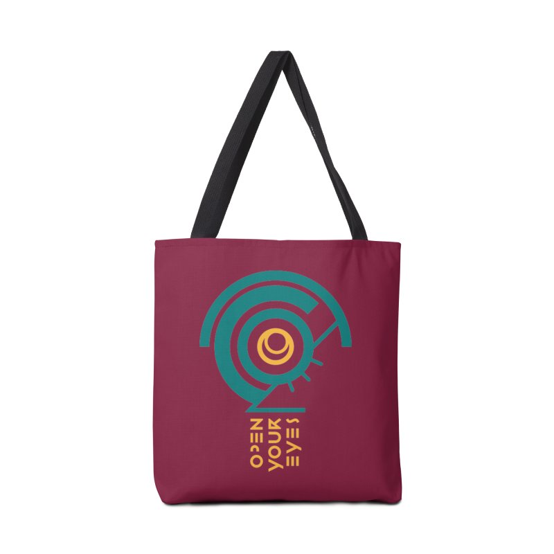 BIG OPEN YOUR EYES Accessories Bag by THE PENGWIN OFFICIAL STORE