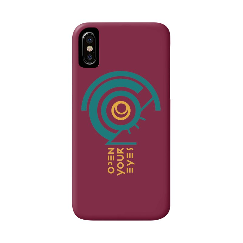 BIG OPEN YOUR EYES Accessories Phone Case by THE PENGWIN OFFICIAL STORE