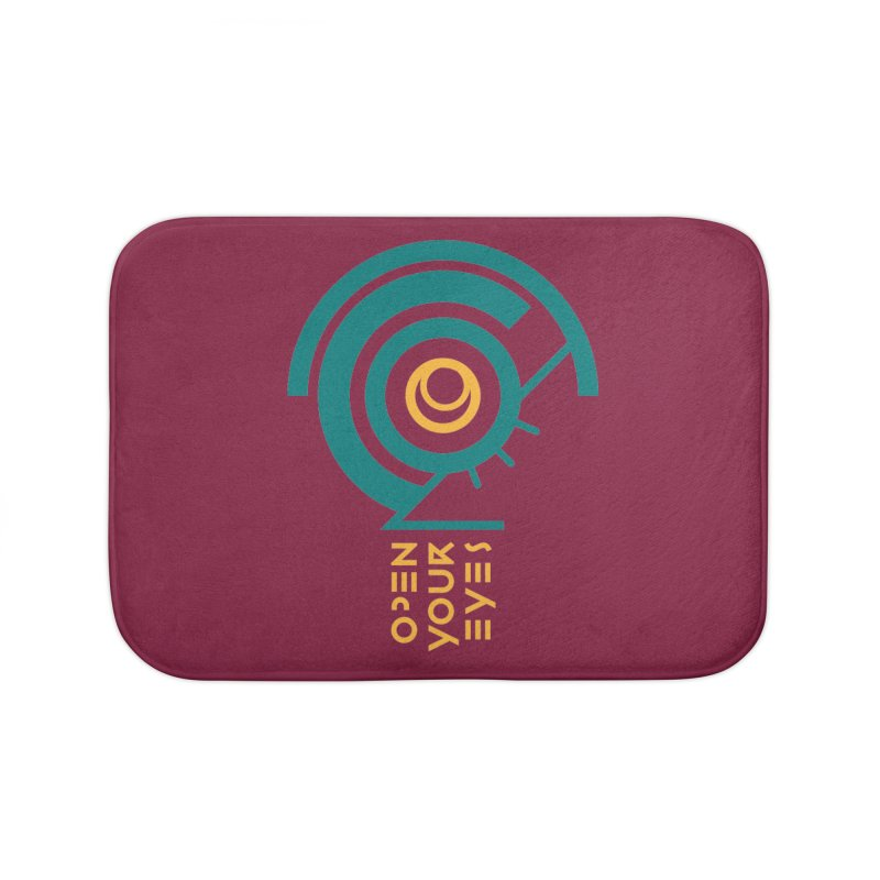 BIG OPEN YOUR EYES Home Bath Mat by THE PENGWIN OFFICIAL STORE