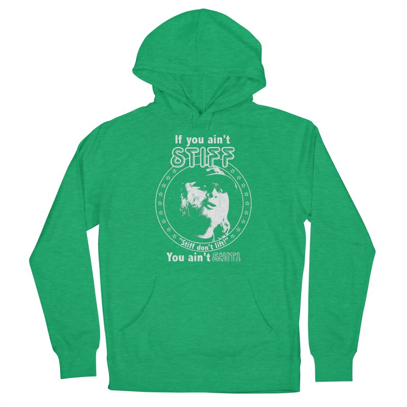 Johnny Stiff Women's French Terry Pullover Hoody by Rocks Off Designs