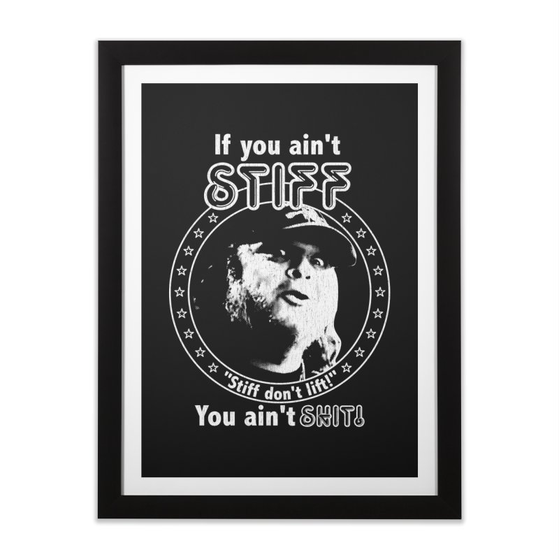 Johnny Stiff Home Framed Fine Art Print by Rocks Off Designs