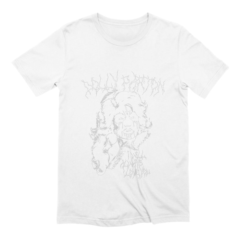 Black Metal Dolly Men's T-Shirt by Rocks Off Designs