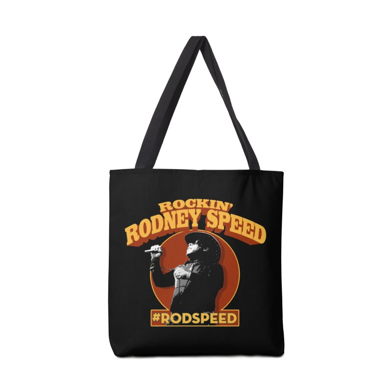 Rockin Rodney Speed Accessories Tote Bag Bag by Rocks Off Designs