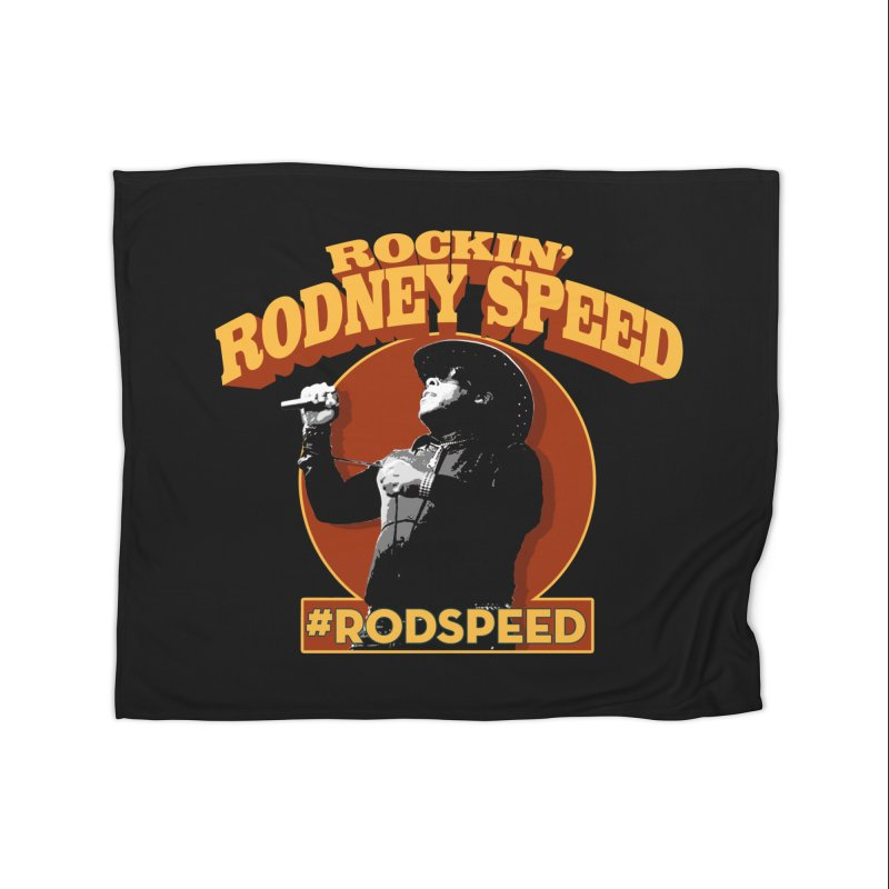 Rockin Rodney Speed Home Blanket by Rocks Off Designs