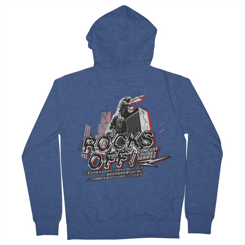 Rocks Off 2018 Men's French Terry Zip-Up Hoody by Rocks Off Designs
