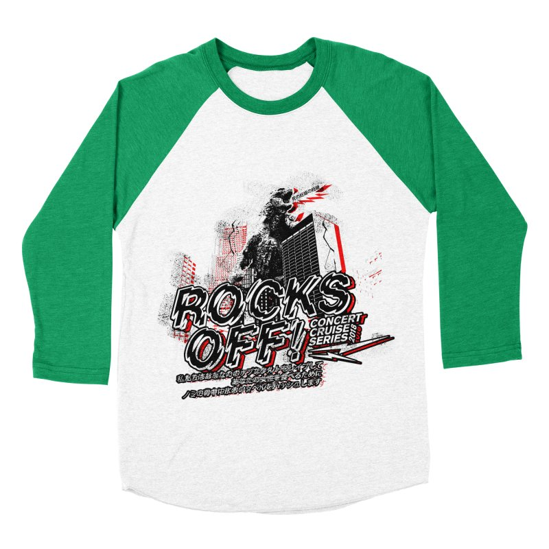 Rocks Off 2018 Women's Baseball Triblend Longsleeve T-Shirt by Rocks Off Designs