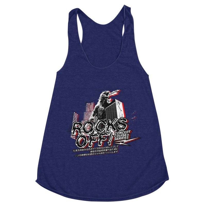 Rocks Off 2018 Women's Racerback Triblend Tank by Rocks Off Designs