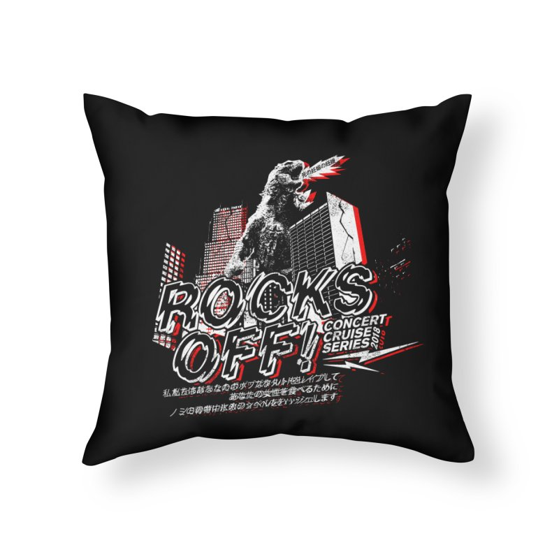 Rocks Off 2018 Home Throw Pillow by Rocks Off Designs