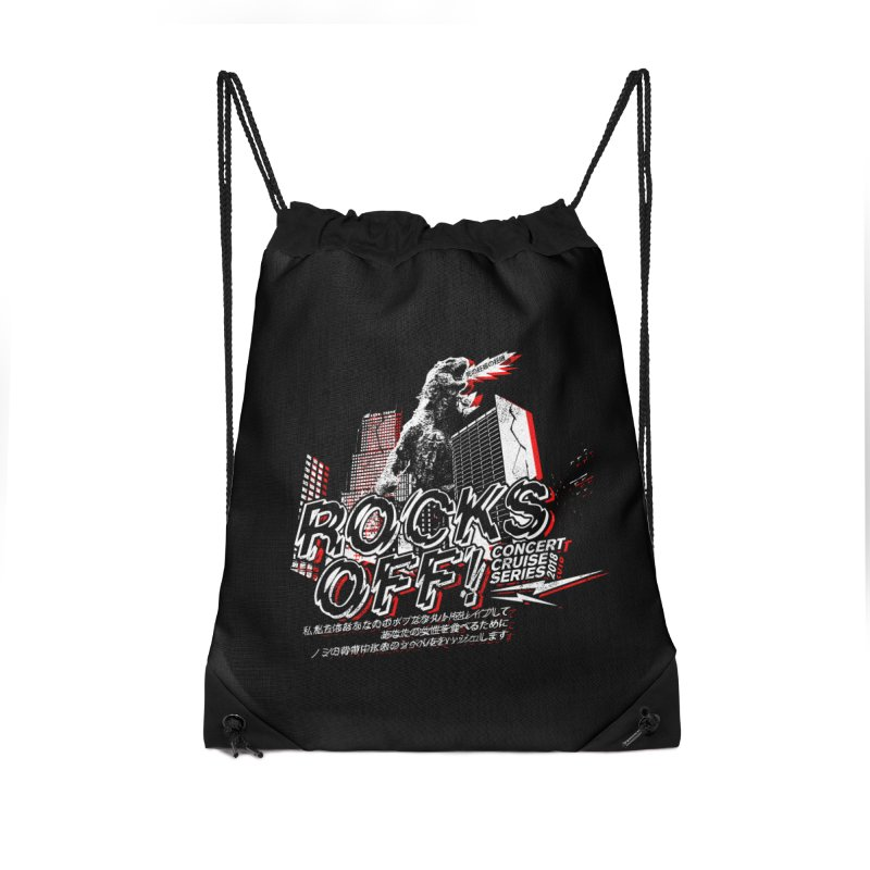 Rocks Off 2018 Accessories Drawstring Bag Bag by Rocks Off Designs