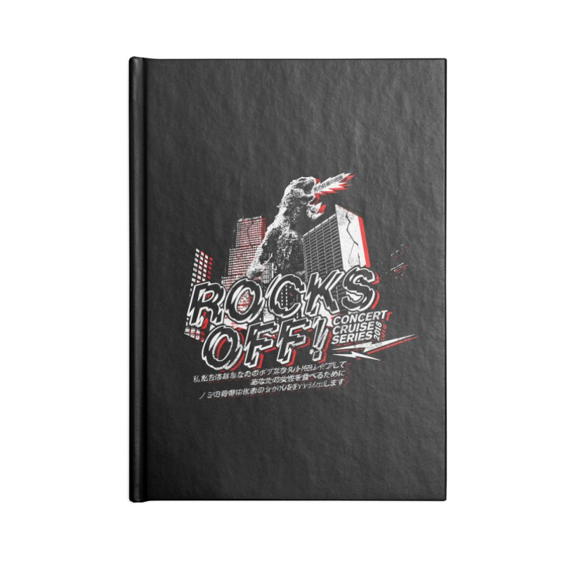 Rocks Off 2018 Accessories Lined Journal Notebook by Rocks Off Designs