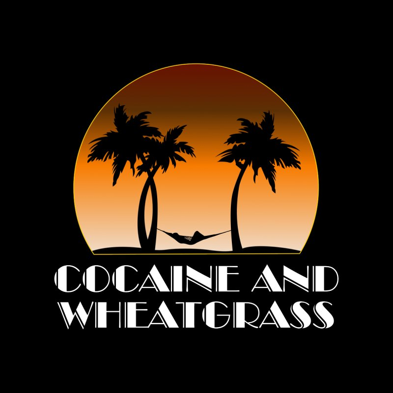 Cocaine & Wheatgrass Women's Longsleeve T-Shirt by Rocks Off Designs