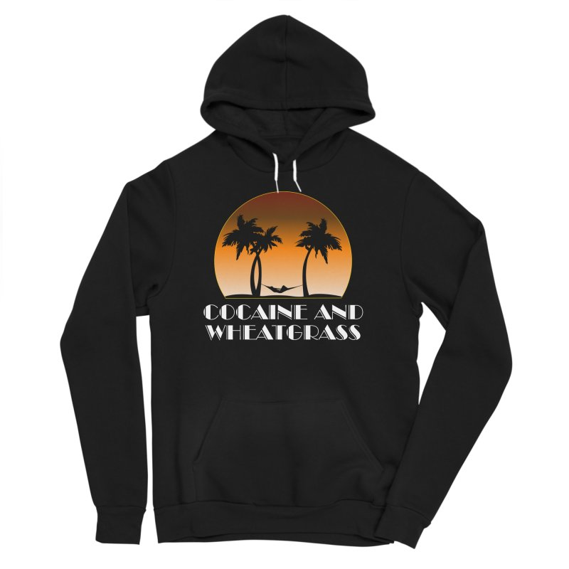 Cocaine & Wheatgrass Men's Sponge Fleece Pullover Hoody by Rocks Off Designs