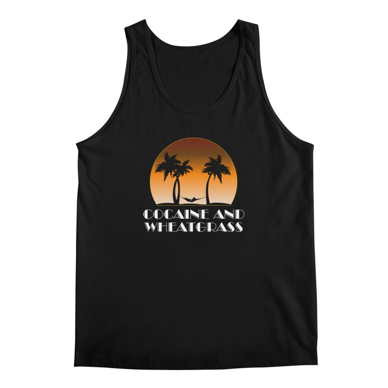 Cocaine & Wheatgrass Men's Regular Tank by Rocks Off Designs