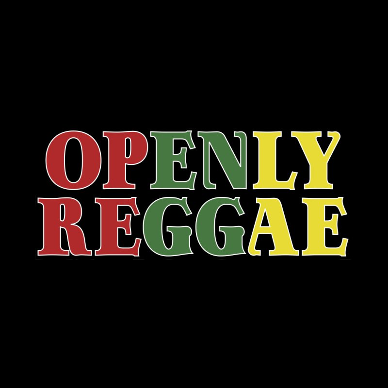 Openly Reggae Men's Pullover Hoody by Rocks Off Designs