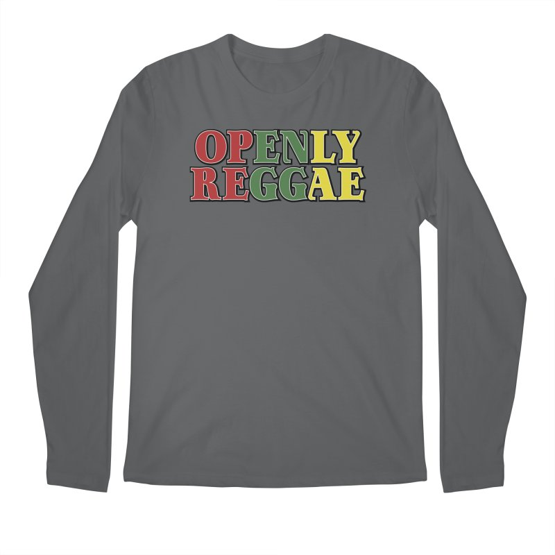 Openly Reggae Men's Longsleeve T-Shirt by Rocks Off Designs