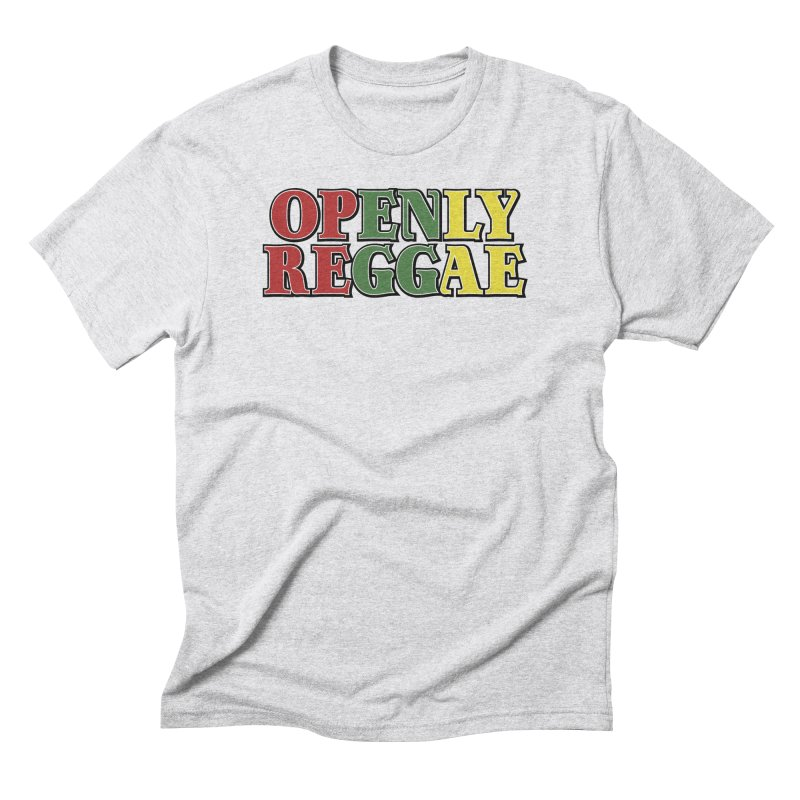 Openly Reggae Men's Triblend T-Shirt by Rocks Off Designs