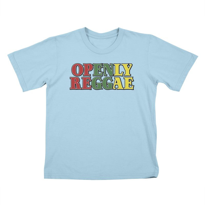 Openly Reggae Kids T-Shirt by Rocks Off Designs