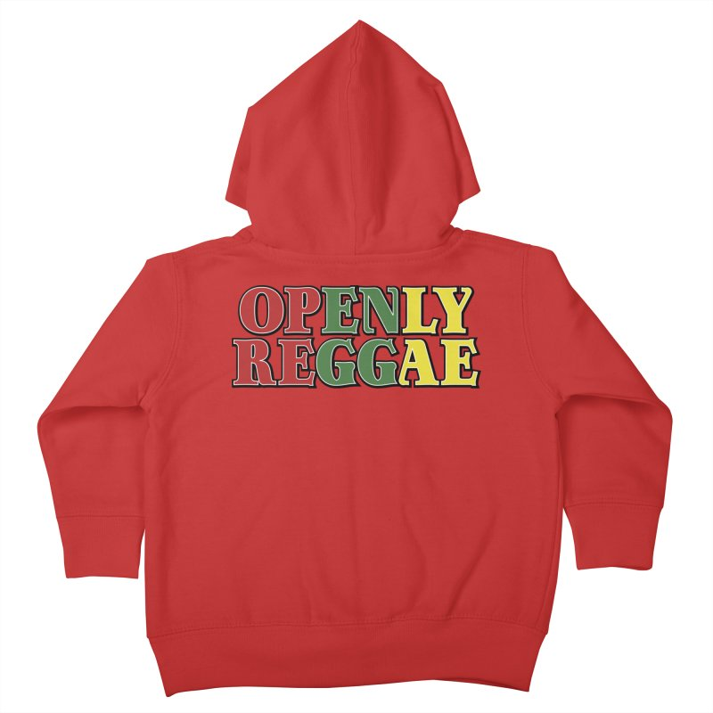Openly Reggae Kids Toddler Zip-Up Hoody by Rocks Off Designs