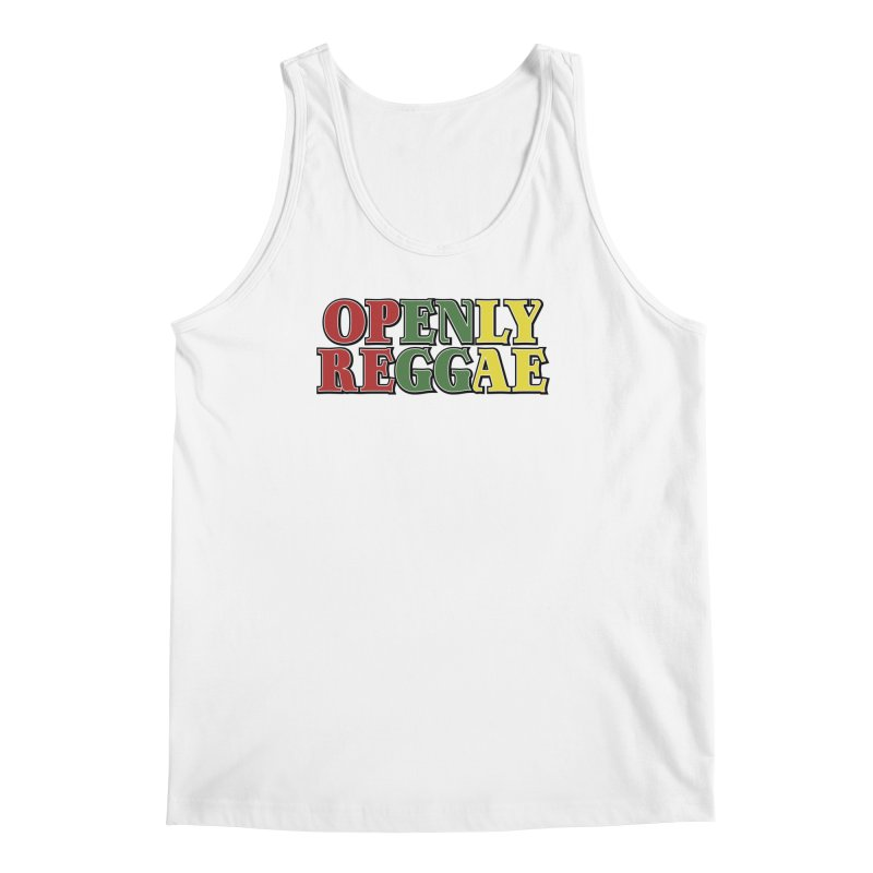 Openly Reggae Men's Regular Tank by Rocks Off Designs