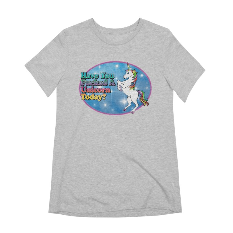 Unicorn Love Women's Extra Soft T-Shirt by Rocks Off Designs