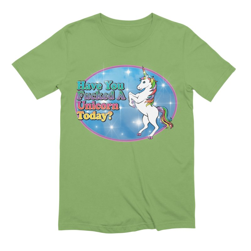 Unicorn Love Men's Extra Soft T-Shirt by Rocks Off Designs