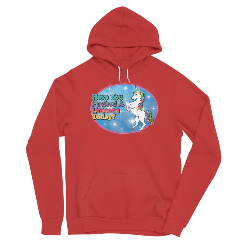 Unicorn Love Men's Pullover Hoody by Rocks Off Designs