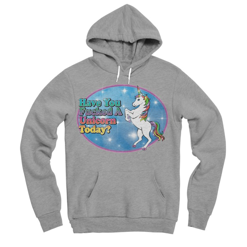 Unicorn Love Women's Sponge Fleece Pullover Hoody by Rocks Off Designs