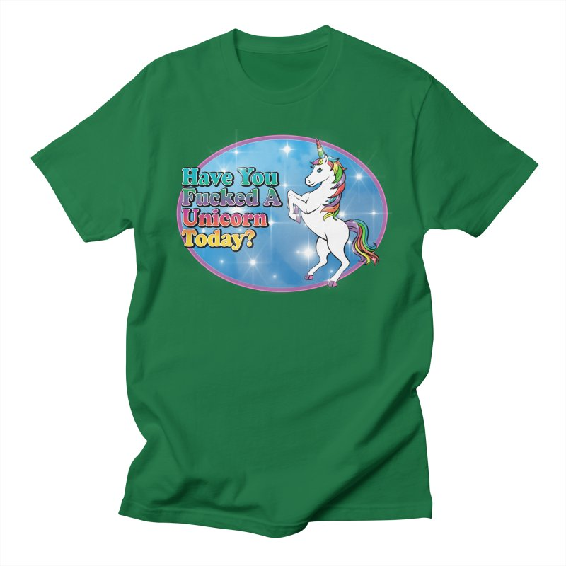 Unicorn Love Women's Regular Unisex T-Shirt by Rocks Off Designs
