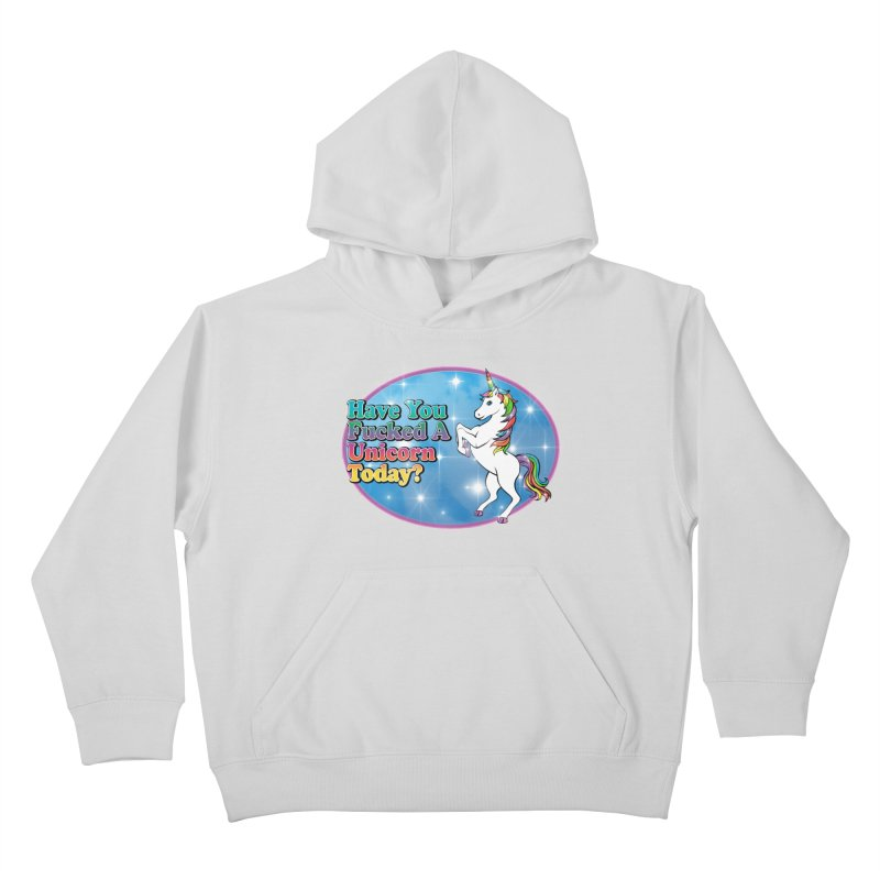 Unicorn Love Kids Pullover Hoody by Rocks Off Designs