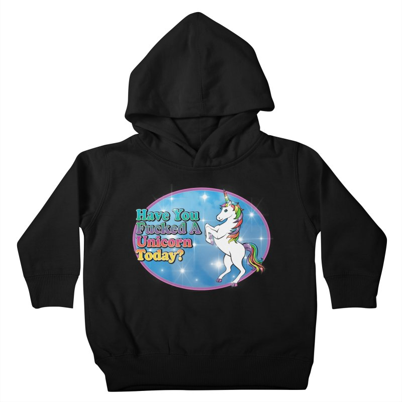 Unicorn Love Kids Toddler Pullover Hoody by Rocks Off Designs