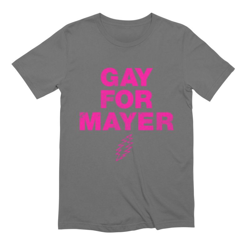 Gay For Mayer Men's T-Shirt by Rocks Off Designs