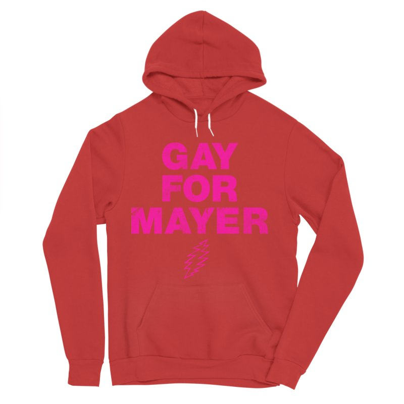 Gay For Mayer Men's Pullover Hoody by Rocks Off Designs