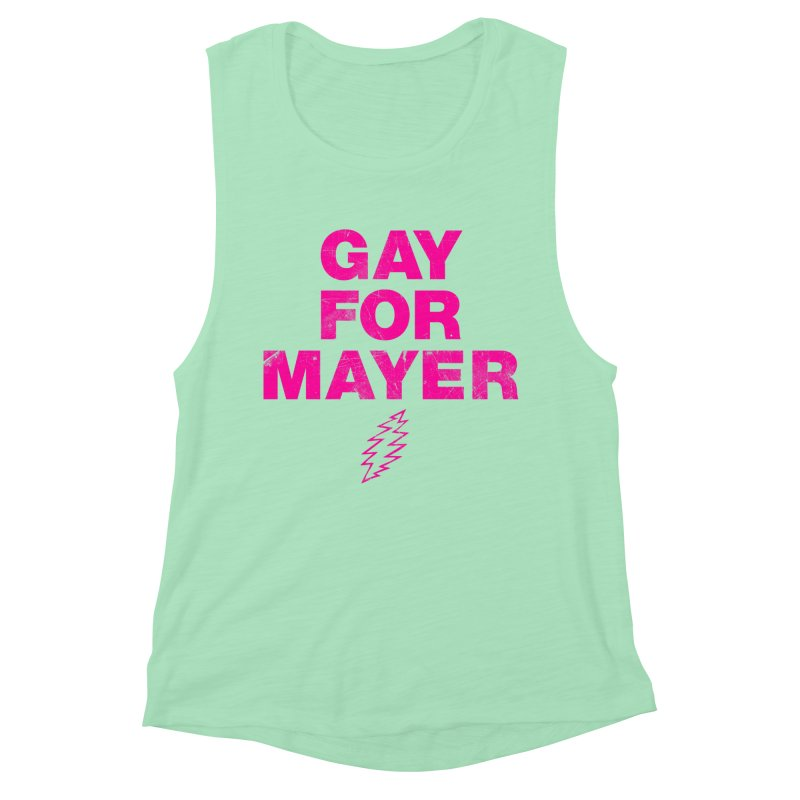 Gay For Mayer Women's Muscle Tank by Rocks Off Designs