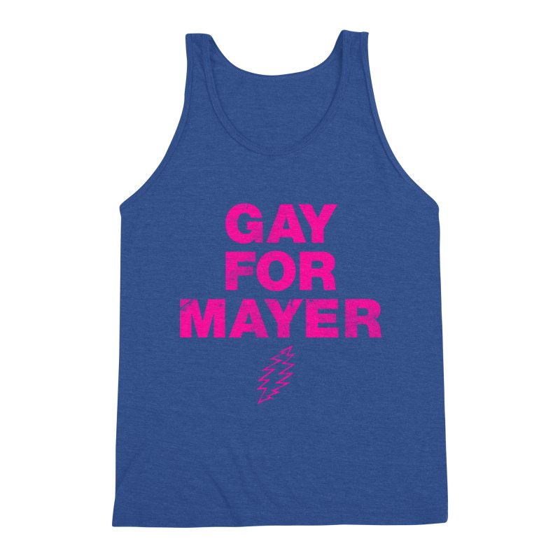 Gay For Mayer Men's Tank by Rocks Off Designs