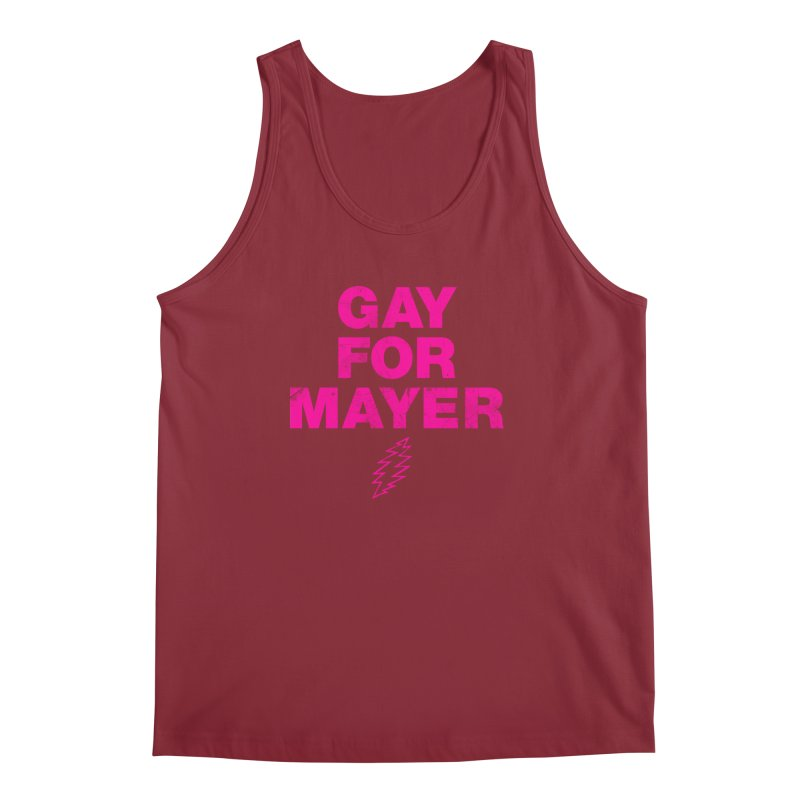 Gay For Mayer Men's Regular Tank by Rocks Off Designs