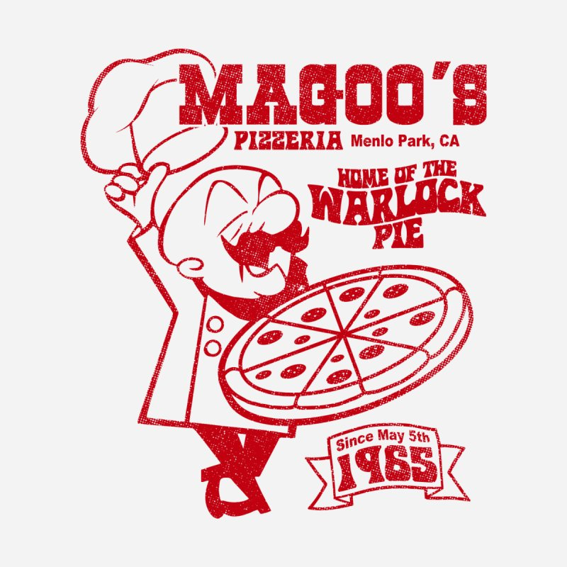 Magoo's Pizzeria Men's T-Shirt by Rocks Off Designs