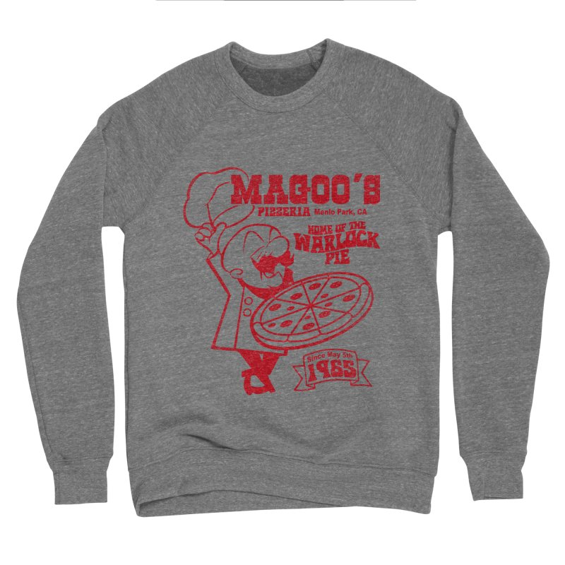 Magoo's Pizzeria Men's Sponge Fleece Sweatshirt by Rocks Off Designs