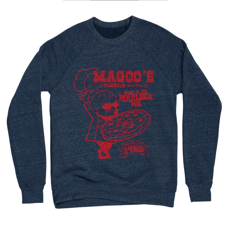 Magoo's Pizzeria Women's Sponge Fleece Sweatshirt by Rocks Off Designs