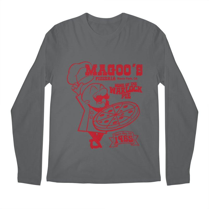 Magoo's Pizzeria Men's Longsleeve T-Shirt by Rocks Off Designs