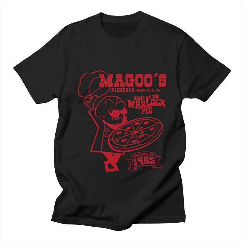 Magoo's Pizzeria Women's Regular Unisex T-Shirt by Rocks Off Designs
