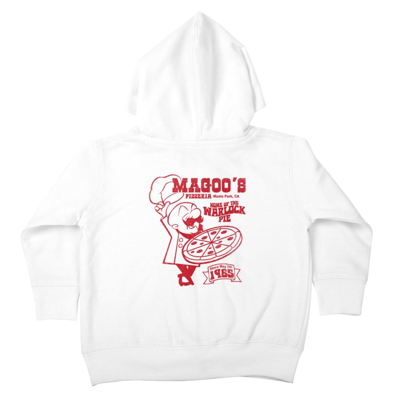 Magoo's Pizzeria Kids Toddler Zip-Up Hoody by Rocks Off Designs