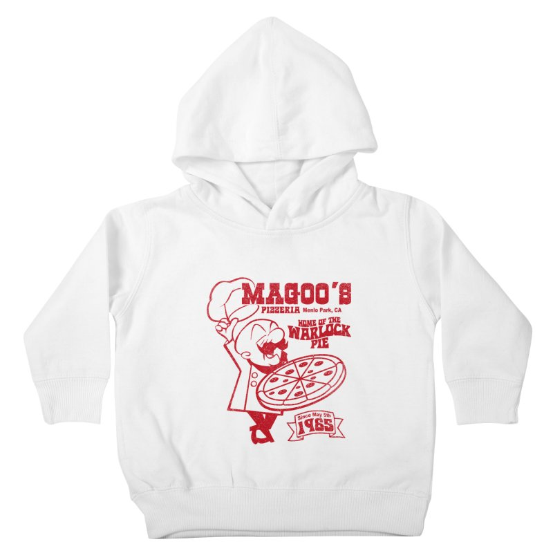 Magoo's Pizzeria Kids Toddler Pullover Hoody by Rocks Off Designs
