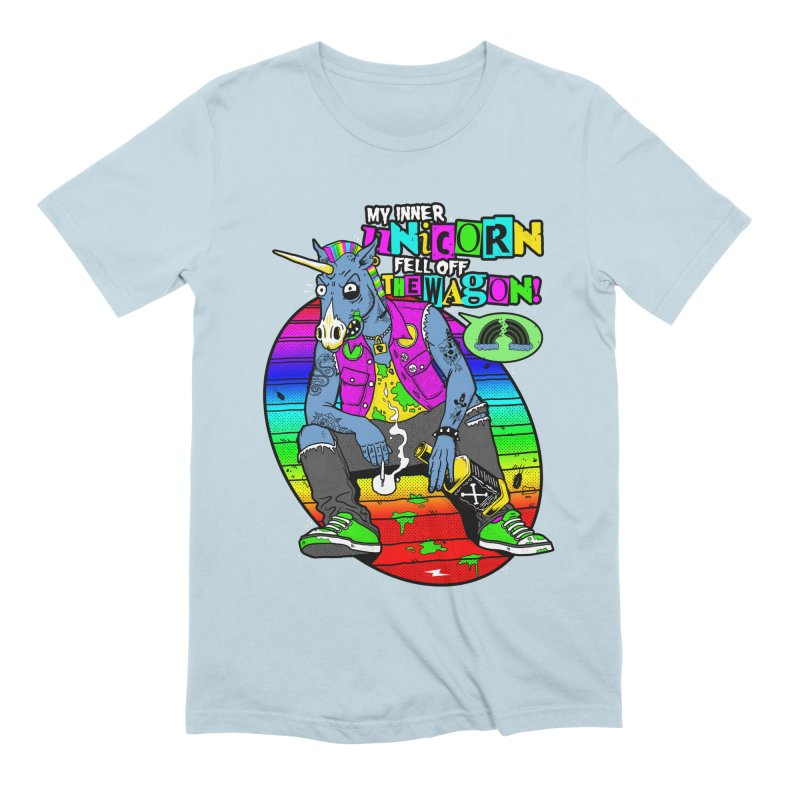 My Inner Unicorn Men's T-Shirt by Rocks Off Designs